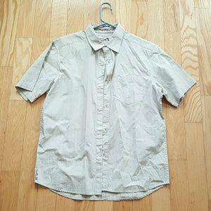 Quiksilver Men's Button Down shirt Medium